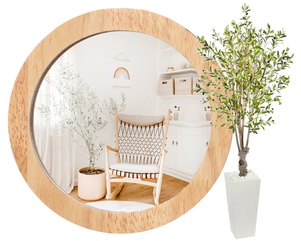 Nurseries with Artificial Olive Tree