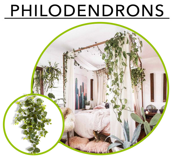 Tropic Like its Hot; Artificial Plants To Create Your Own Urban Jungle Indoors: Philodendrons