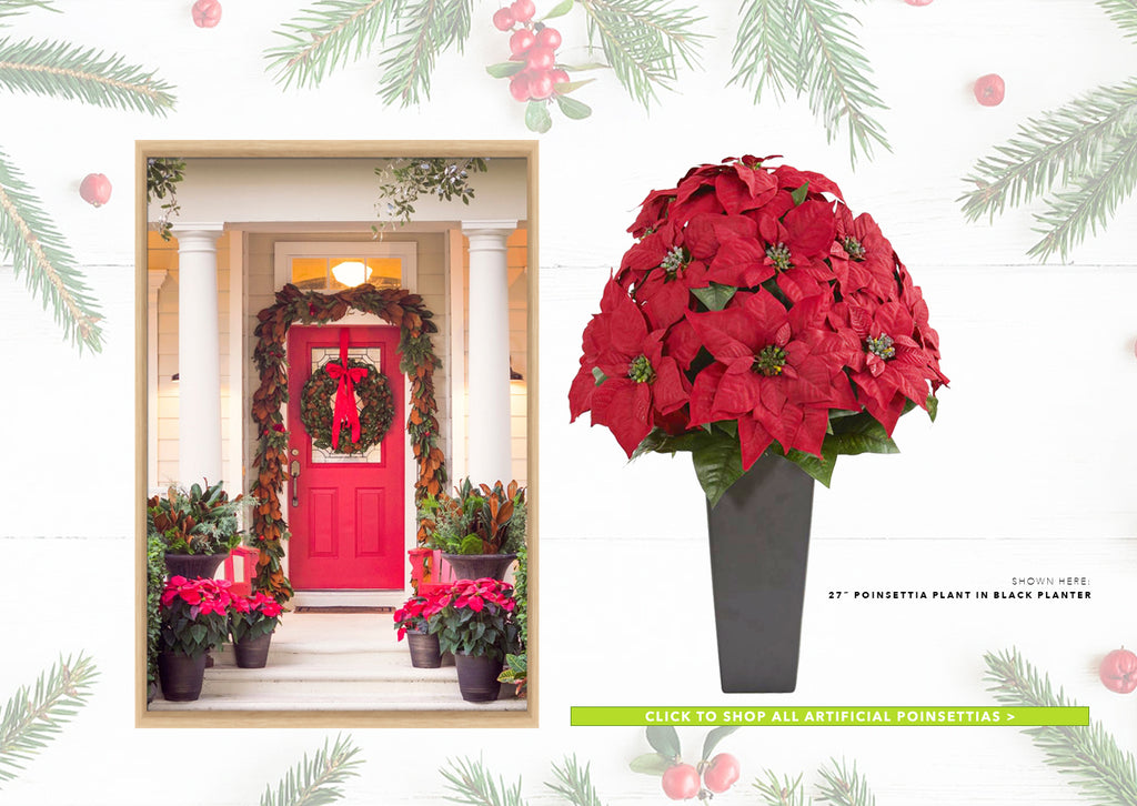 Artificial Poinsettias