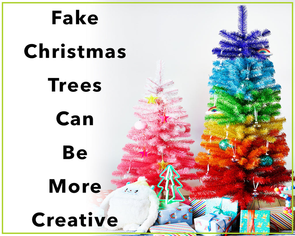 Fake Christmas Trees Can Be More Creative