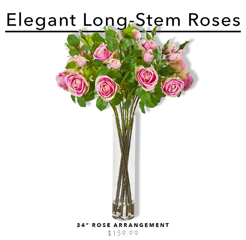 The Best Artificial Flower Arrangements To Celebrate Mother's Day: Rose Arrangements