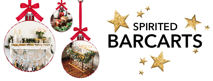 Traditional Christmas Decorations With The Best of Holiday Faux-liage: Spirited Barcarts