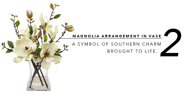 2018's Best In Show of Fake Artificial Plants: Magnolia Arrangement