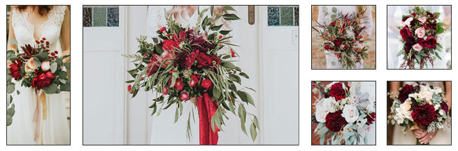 Bridal Bouquets With Winter Florals: Hints of Winter
