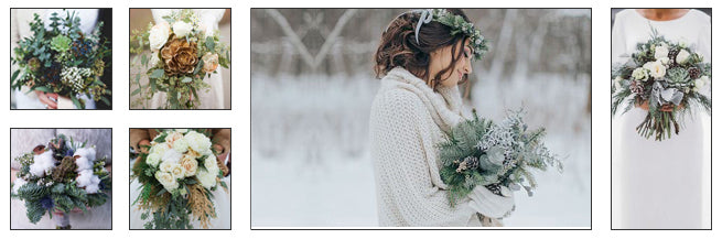 Bridal Bouquets With Winter Florals: Practice Makes Perfect