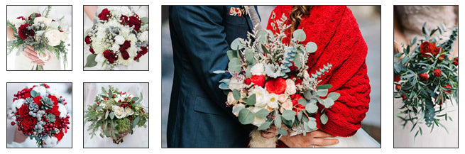 Bridal Bouquets With Winter Florals: Opt for Seasonal