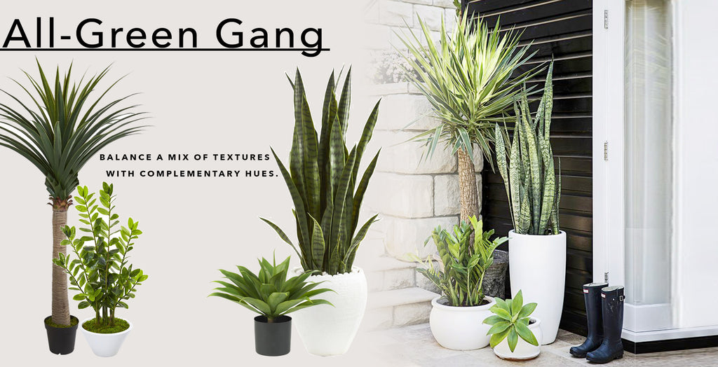 How To Achieve Patio Perfection With Artificial Greenery With All Green Gang