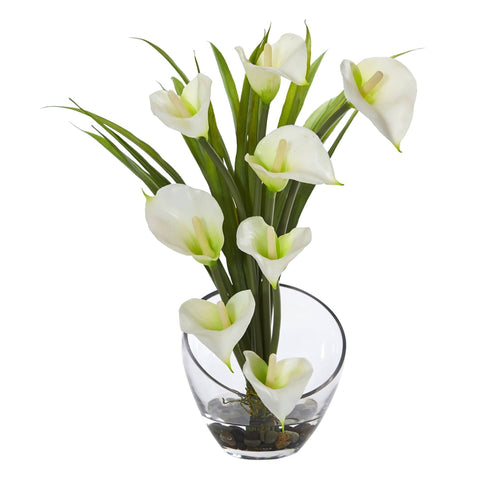 Fake & Artificial Flowers in Vase - Water Look Arrangements