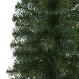 2' Green Artificial Christmas Tree with 35 LED Lights and 72 Bendable Braches