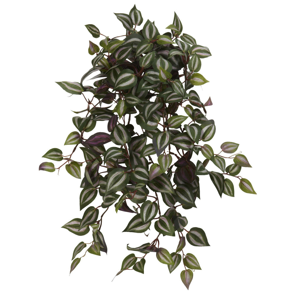 "23"" Wandering Jew Hanging Artificial Plant (Set of 4)"