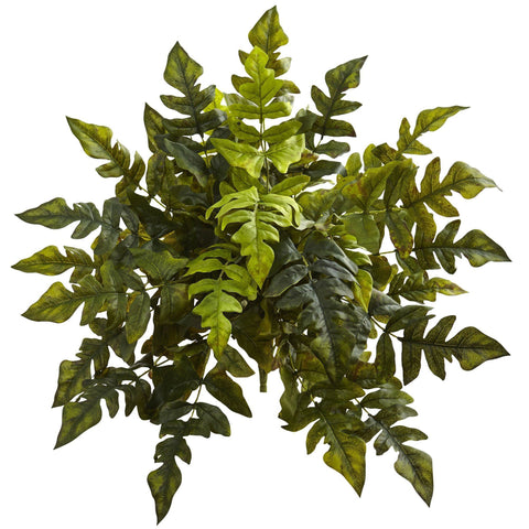 Silk Holly Fern Plants