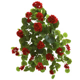 "26"" Geranium Artificial Plant (Set of 2)"
