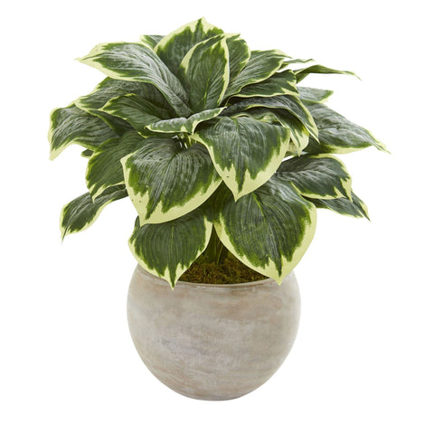 Artificial Hosta Plants
