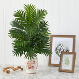 "27"" Areca Palm Artificial Plant in Floral Jar"