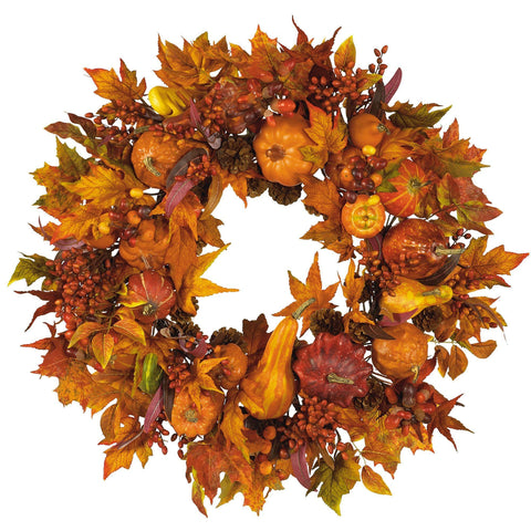 Thanksgiving Wreaths, Garlands And Swags