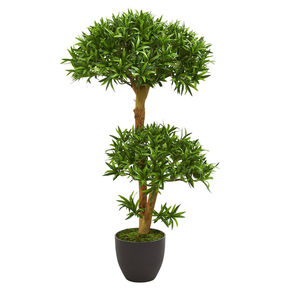 3' Bonsai Styled Podocarpus Artificial Tree