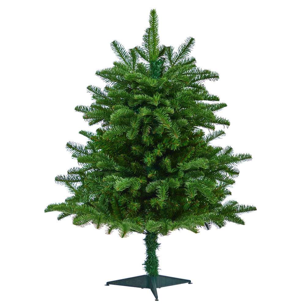 3' South Carolina Spruce Artificial Christmas Tree with 458 Bendable Branches