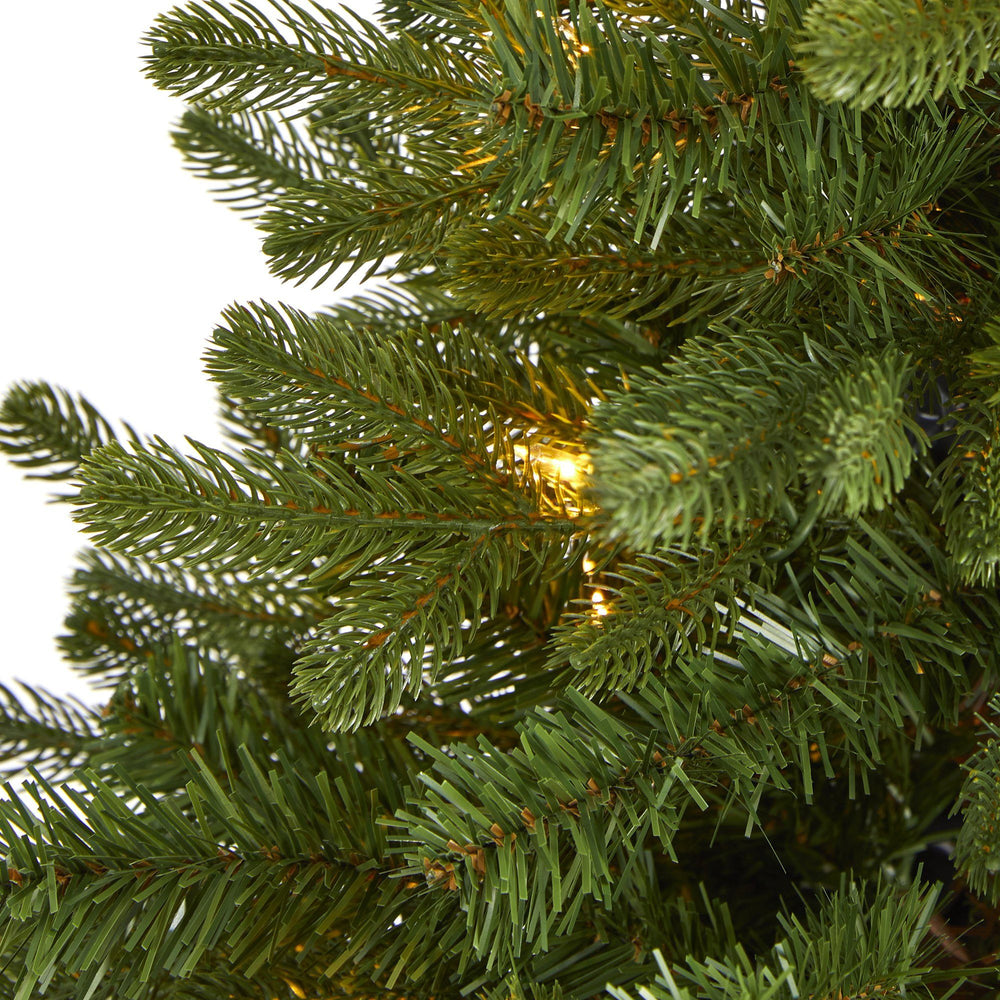3' Washington Fir Artificial Christmas Tree with 50 Clear Lights