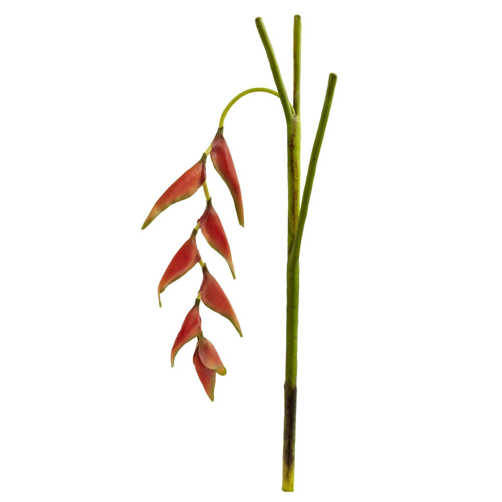 31'' Hanging Heliconia Artificial Flower (Set of 4)