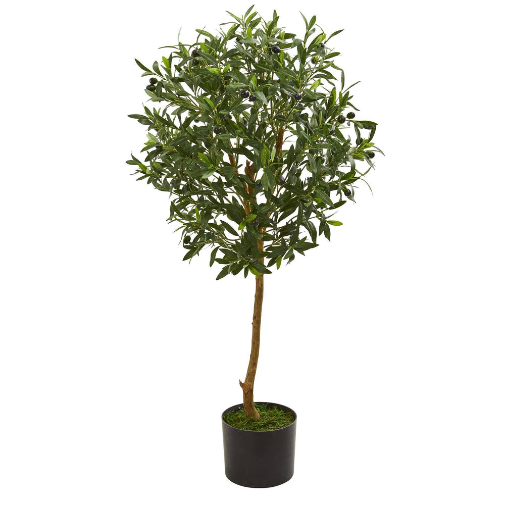 3.5' Olive Artificial Tree in Nursery Planter
