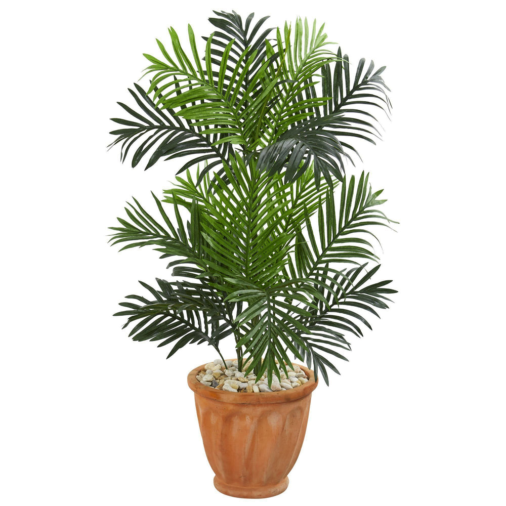 3.5' Paradise Palm Artificial Tree in Terra Cotta Planter