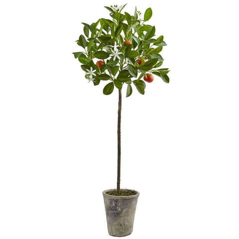Artificial Orange Trees