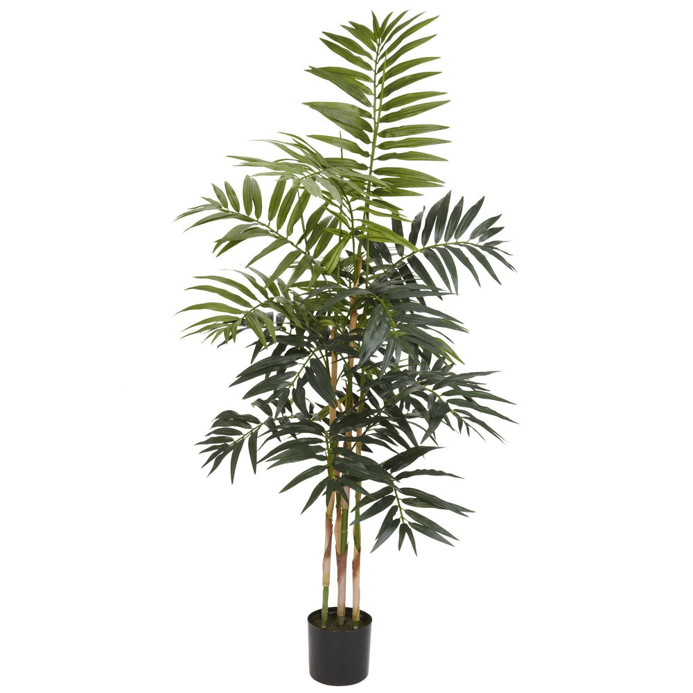 4' Artificial Bamboo Palm Silk Tree
