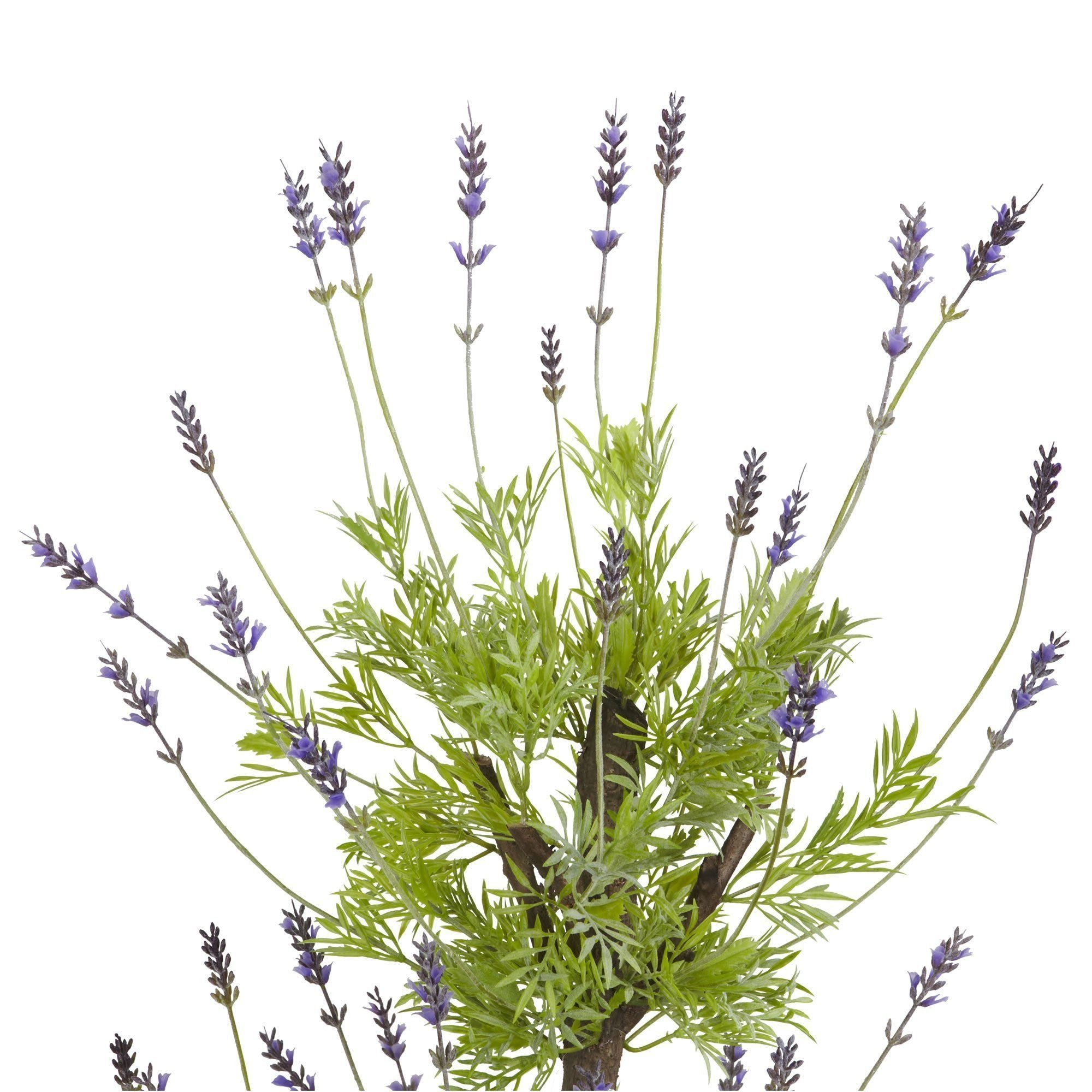 4 Lavender Topiary Silk Tree Nearly Natural