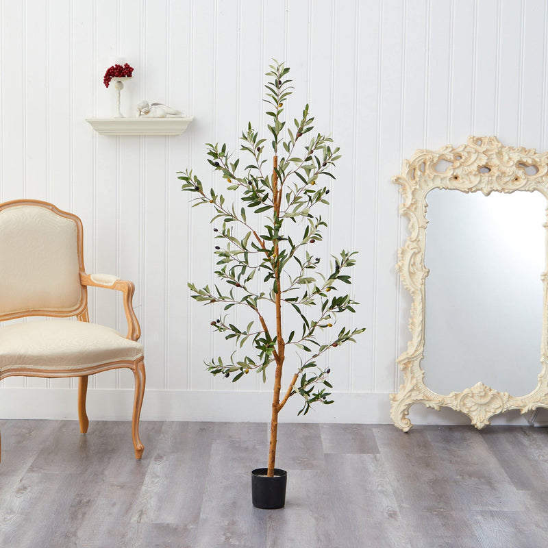 4.5' Olive Artificial Tree