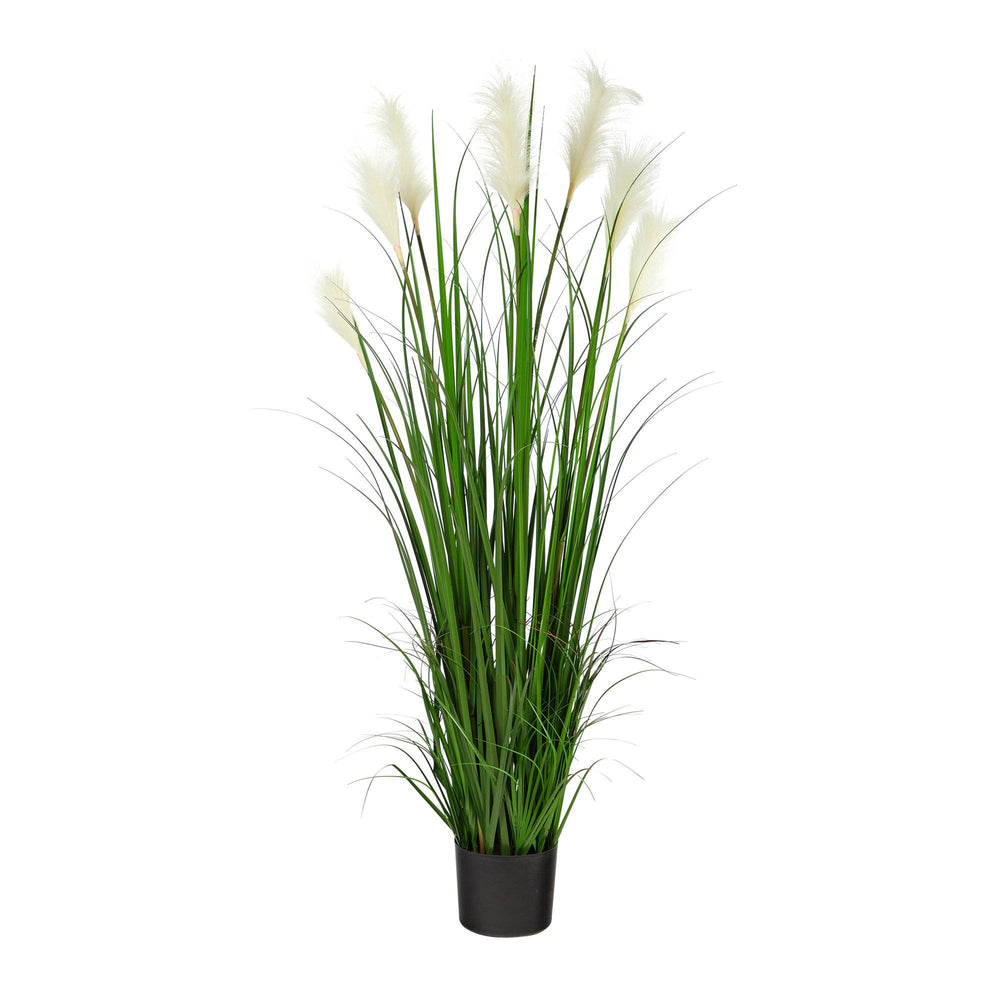 4.5' Plum Grass Artificial Plant
