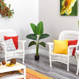 "45"" Traveler's Palm Artificial Plant (Real Touch)"