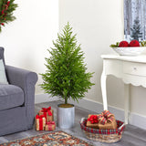 "49"" Norfolk Island Pine ""Natural Look"" Artificial Tree"