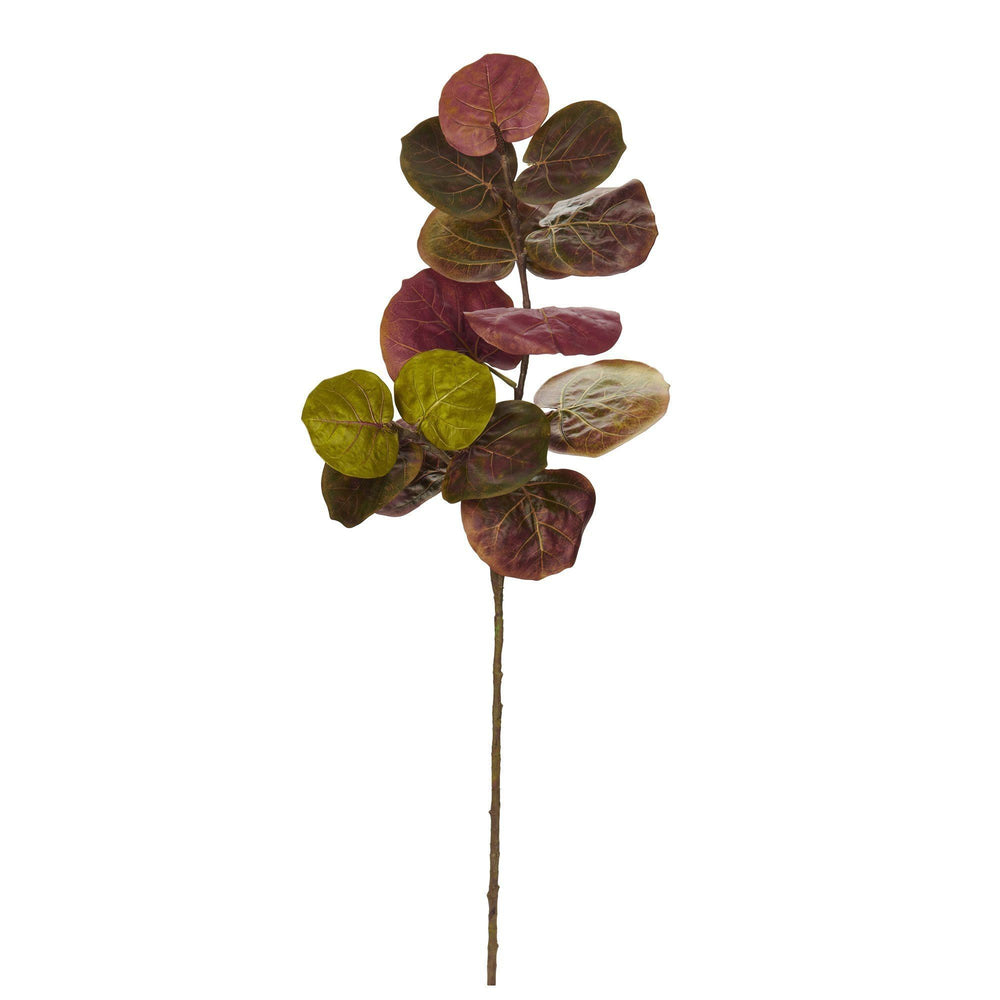 "49"" Sea Grape Artificial Flower (Set of 3)"