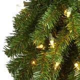 5' Alpine Artificial Christmas Tree with 150 Lights and 405 Bendable Branches