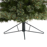 5' Cashmere Slim Artificial Christmas Tree with 250 Warm White Lights and 408 Bendable Branches