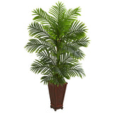 5' Kentia Palm Artificial Tree in Decorative Planter