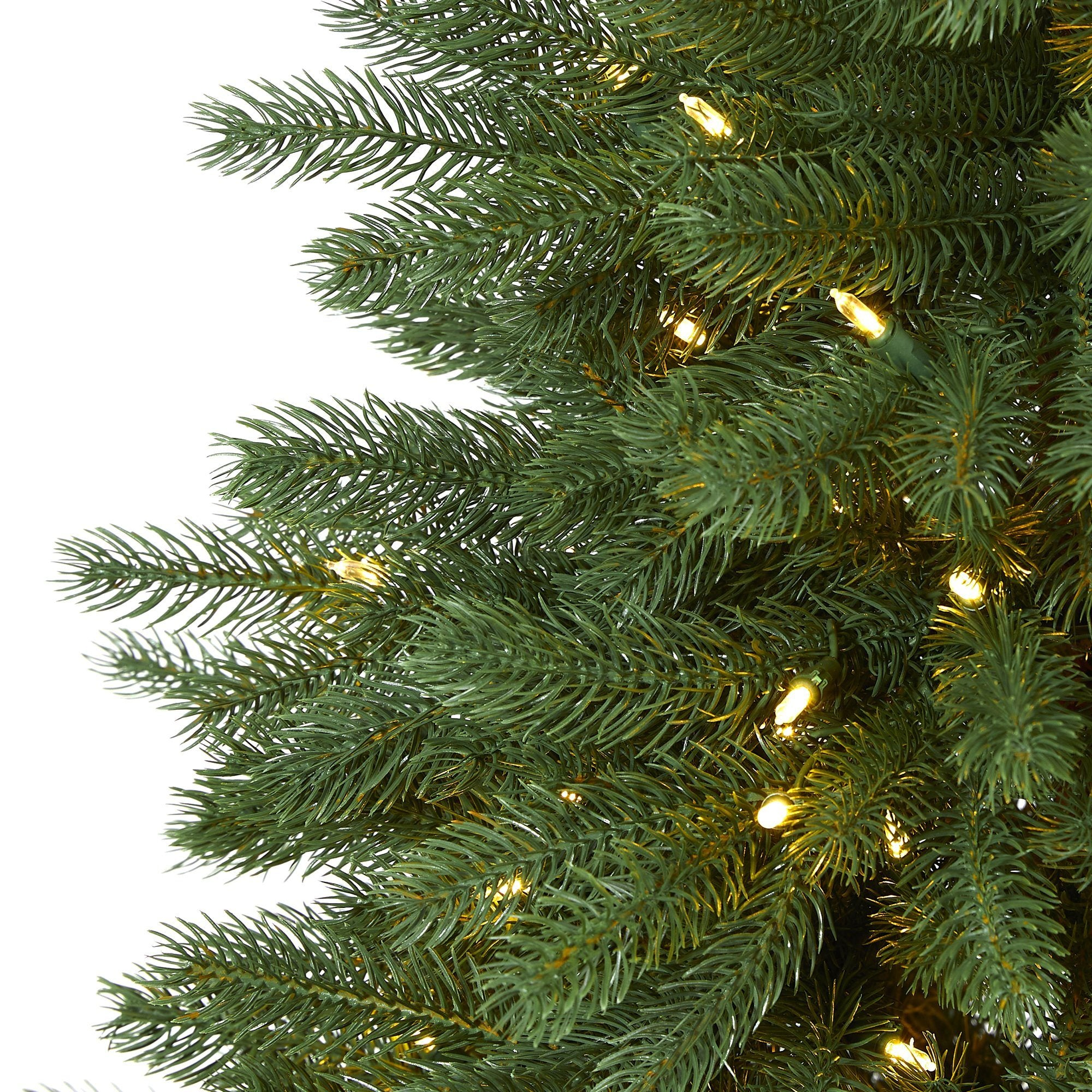 5' Napa Valley Pine Artificial Christmas Tree with 200 ...