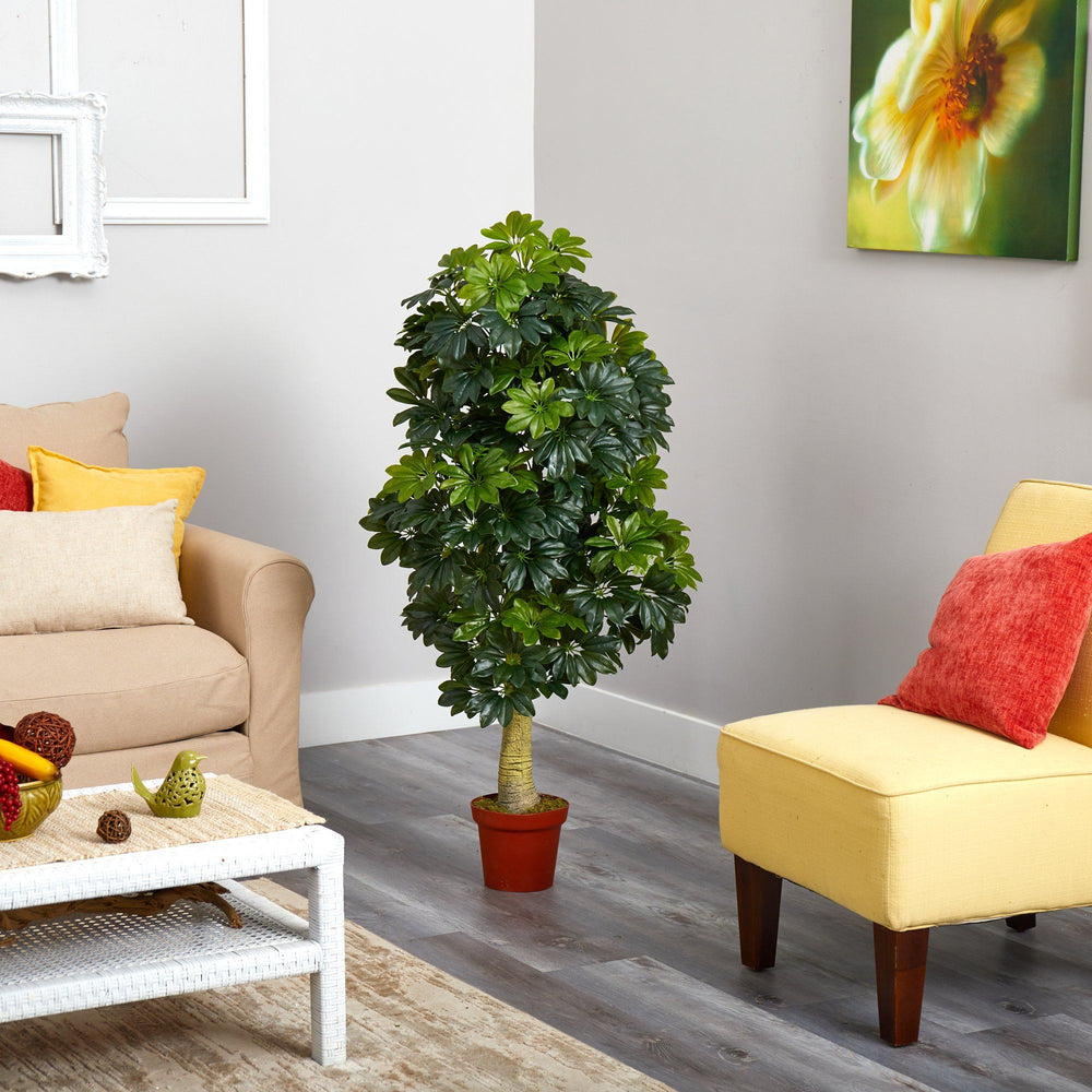 5' Schefflera Artificial Tree (Real Touch)