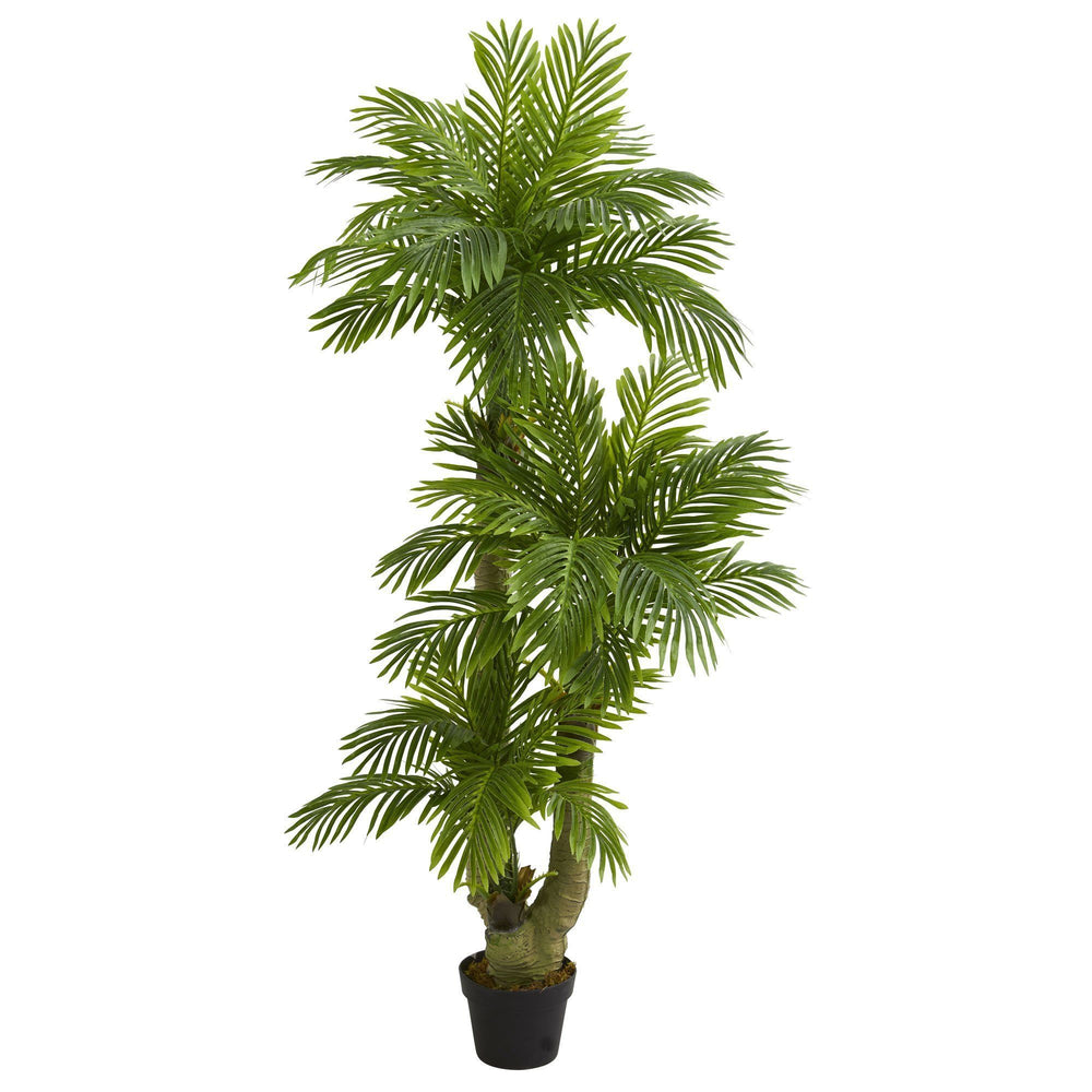 5' Triple Phoenix Palm Artificial Tree