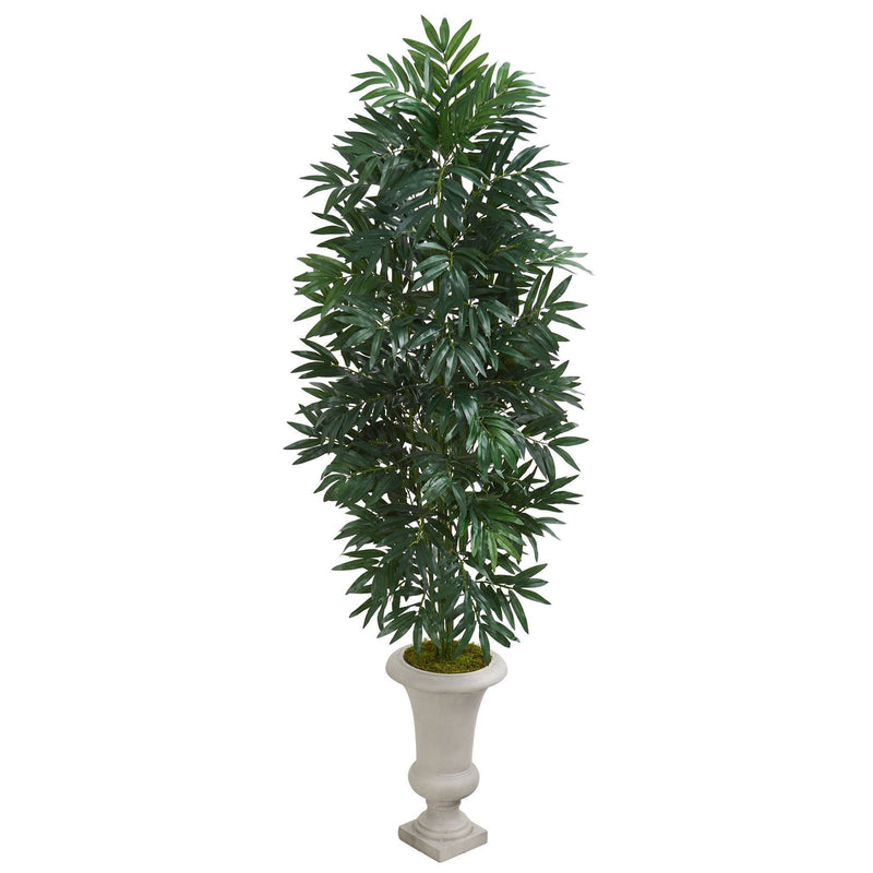 5.5' Bamboo Palm Artificial Plant in Urn