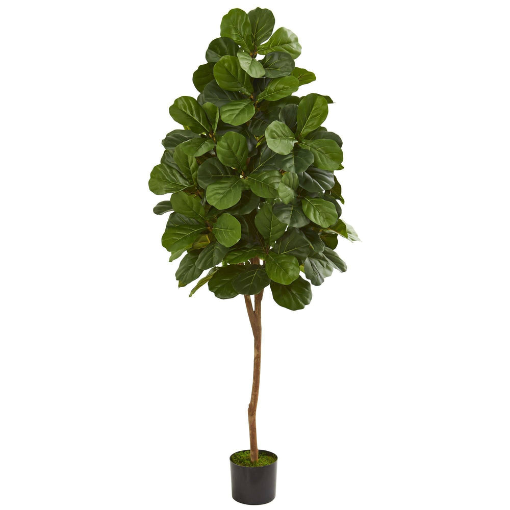 6' Artificial Fiddle Leaf Fig Tree