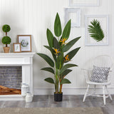 6' Bird of Paradise Artificial Plant