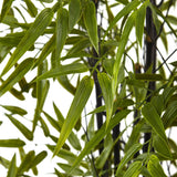 6' Black Bamboo Tree UV Resistant (Indoor/Outdoor)