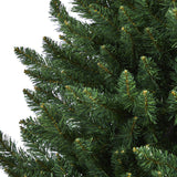 6' Northern Rocky Spruce Artificial Christmas Tree with 838 Bendable Branches