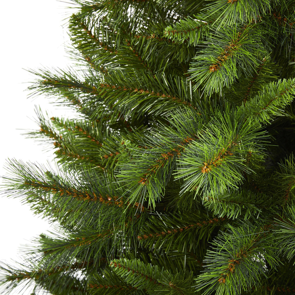 6' Slim West Virginia Mountain Pine Artificial Christmas Tree with 629 Bendable Branches