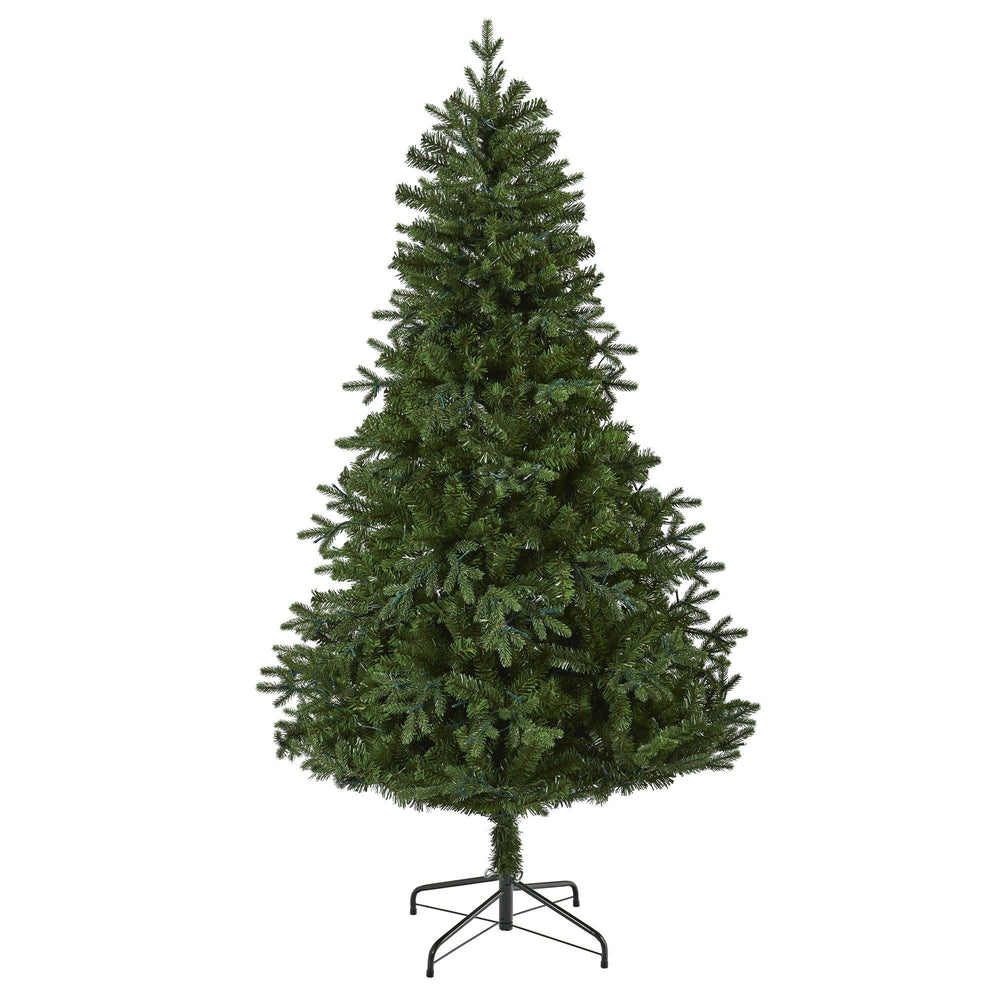 6' Vermont Fir Artificial Christmas Tree with 250 Clear LED Lights