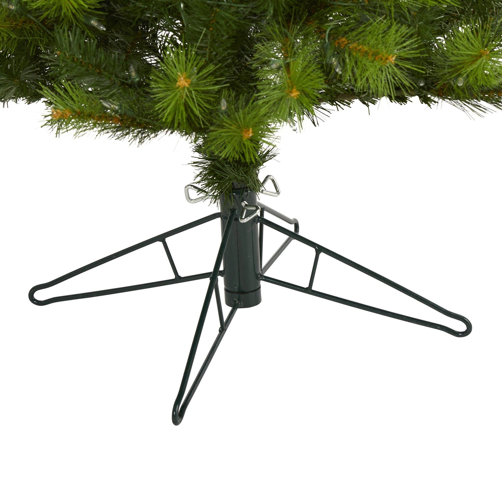 6.5' Green Valley Pine Artificial Christmas Tree with 300 ...