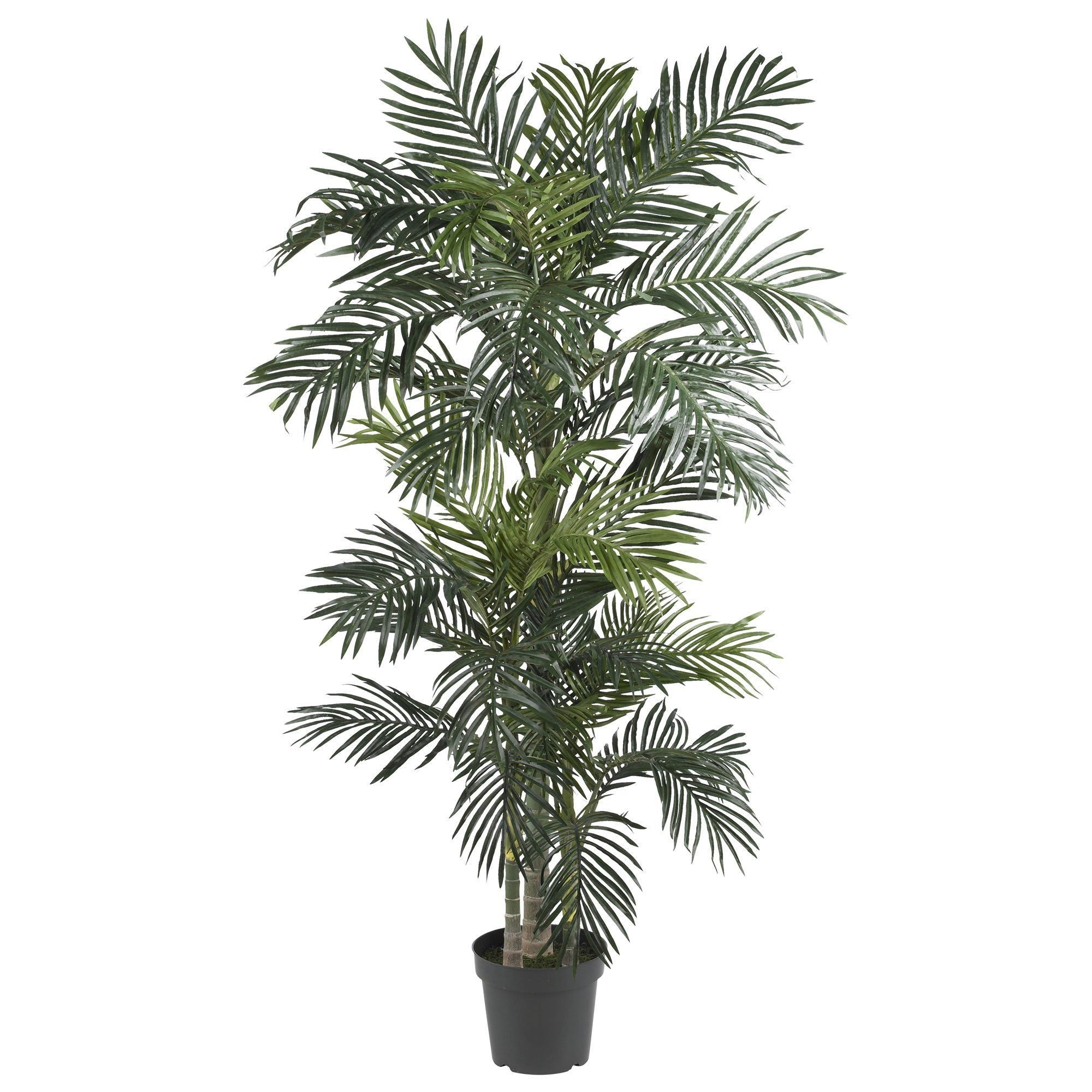 NEW 6/' /& 4/' LARGE  INDOOR REALISTIC  SILK SAGO ARTIFICIAL FAKE  PALM TREE
