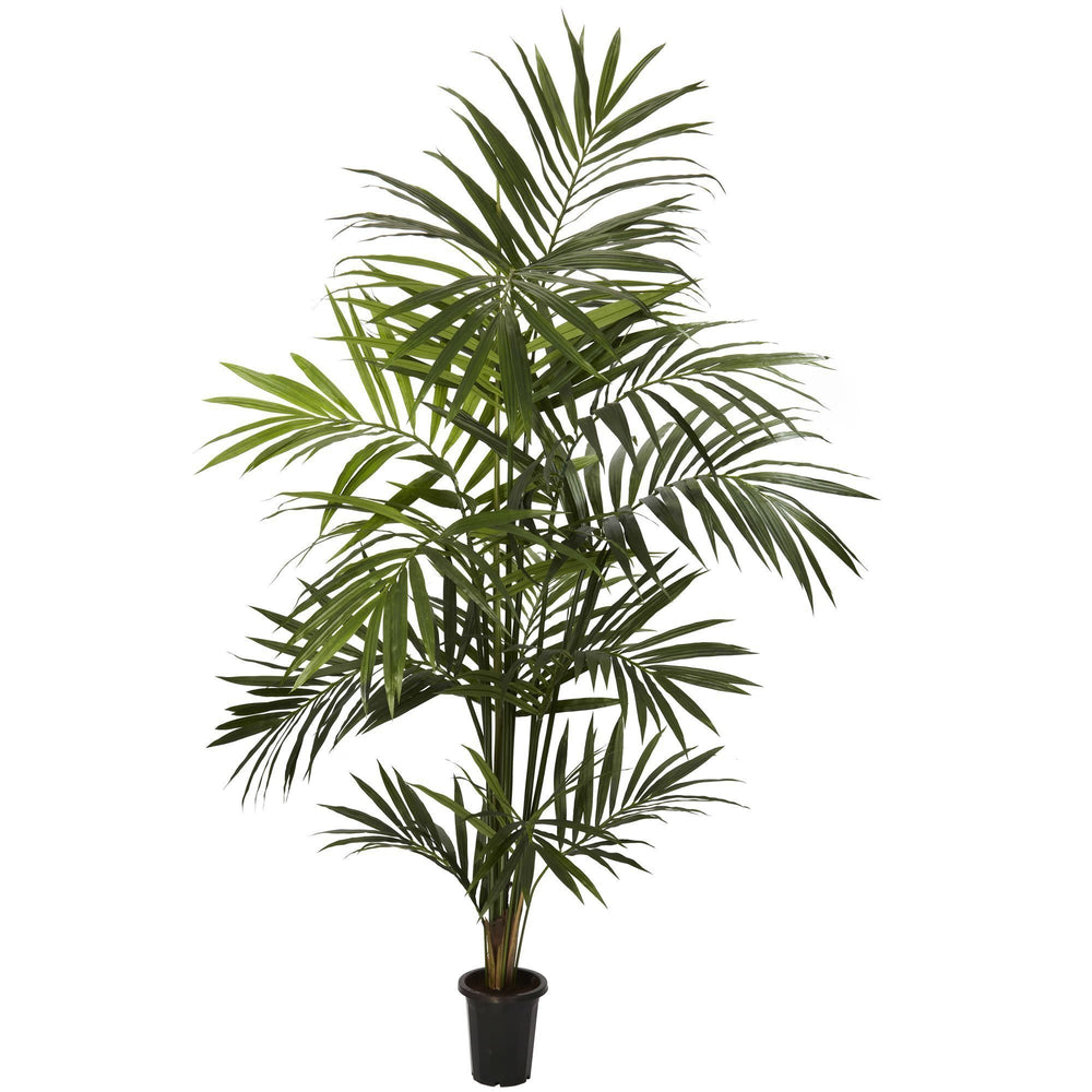 7' Artificial Kentia Palm Silk Tree Bunched