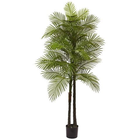 Silk Robellini Palm Plants